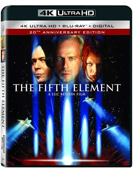 The Fifth Element (1997) 2160p BluRay x265 HEVC 10bit HDR AAC 7 1