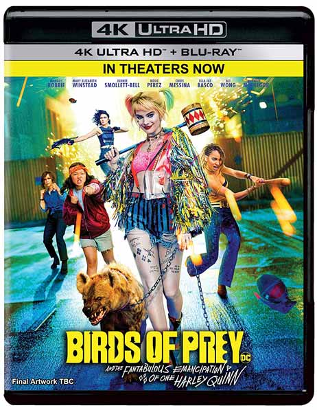 Birds of Prey And the Fantabulous Emancipation of One Harley Quinn 2020 2160p WEB-DL DDP5.1 Atmos HEVC-BLUTONiUM